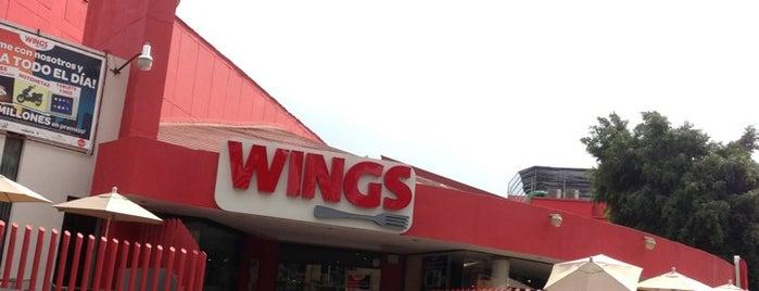 Wings is one of สถานที่ที่ Humberto Cervantes ถูกใจ.