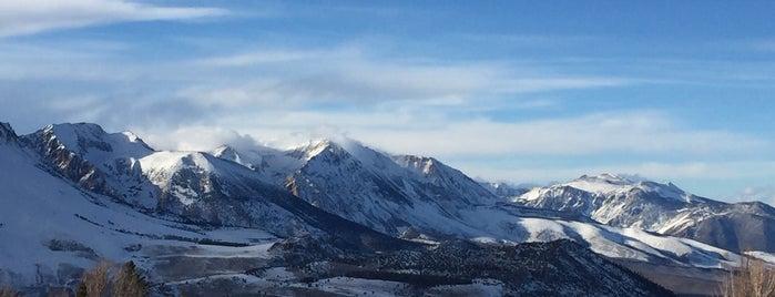June Mountain Ski Area is one of Lieux qui ont plu à Dan.