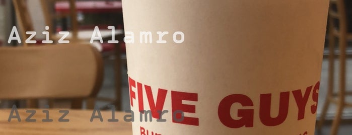 Five Guys is one of Gespeicherte Orte von Dominik.
