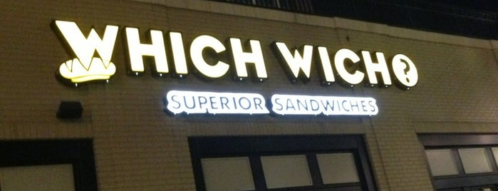 Which Wich? Superior Sandwiches is one of New restaurants to try.