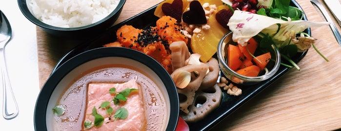 Amami is one of Healthy & Veggie Food in Paris.