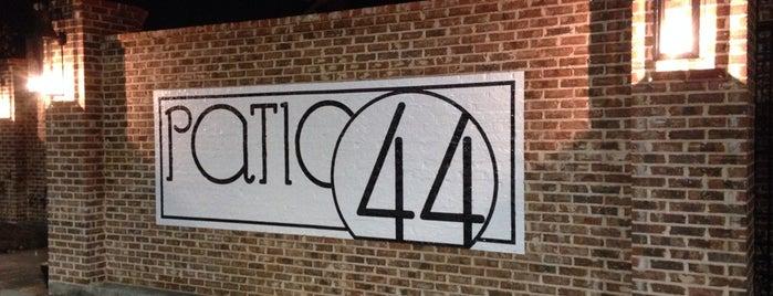Patio 44 is one of Hattiesburg MS.
