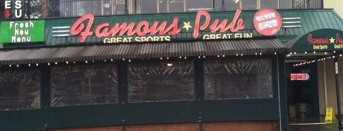 Famous Pub & Sports Palace is one of ATL.