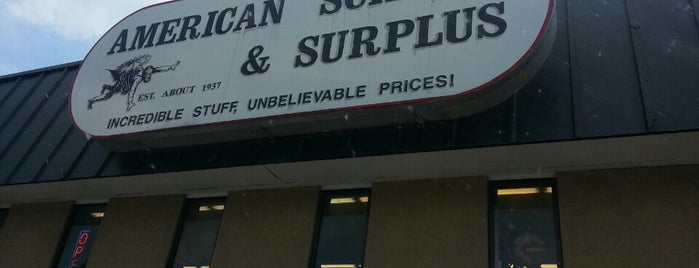American Science and Surplus is one of MILL TOWN.