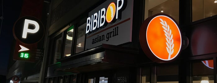 BIBIBOP Asian Grill is one of DC Suburbs.