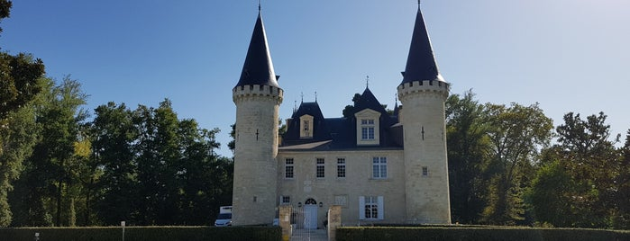 Château d'Agassac is one of Bordeaux.