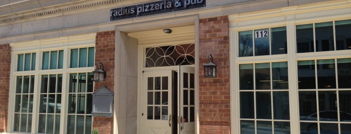 Radius Pizzeria and Pub is one of For a Nice day in hometown.
