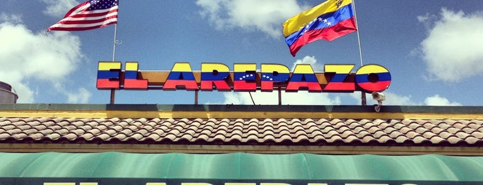 El Arepazo is one of Venezuelan Restaurants.
