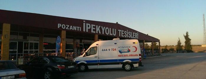 Pozantı İpekyolu Tesisleri is one of สถานที่ที่บันทึกไว้ของ MUZAFFER.