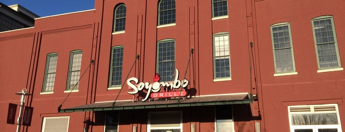Soyombo Grille is one of Places I've Reviewed.