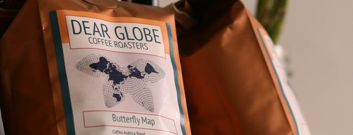 Dear Globe Coffee is one of Lugares favoritos de Rachel.