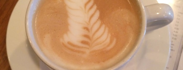 Spoons Cafe is one of Latte Art Baltimore.
