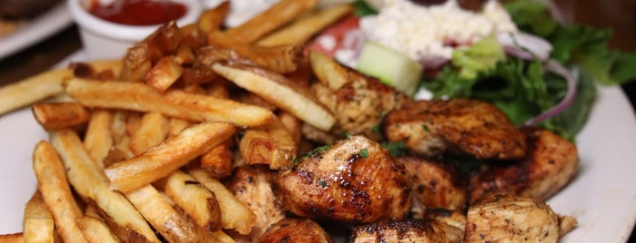 Gyrolicious Greek Grill is one of Lugares favoritos de Rachel.