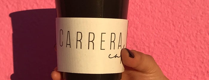 Carrera Cafe is one of Rachelさんのお気に入りスポット.