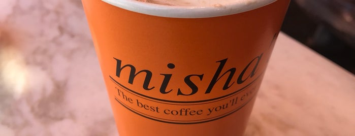 Misha's Coffee is one of Posti che sono piaciuti a Rachel.