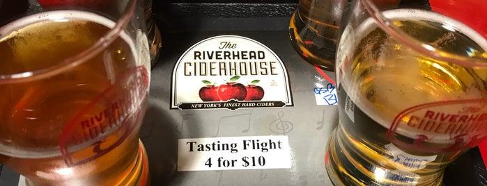 The Riverhead Ciderhouse is one of Rachel : понравившиеся места.