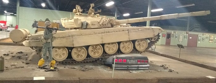 AAF Tank Museum is one of Things to See.