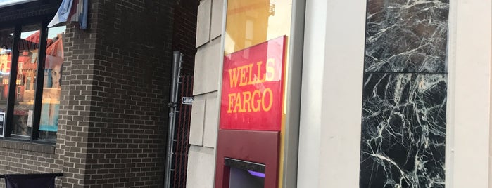 Wells Fargo is one of Shopping around town.