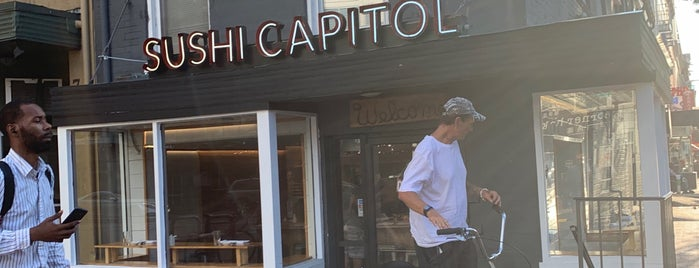 Sushi Capitol is one of New: DC 2019 🆕.