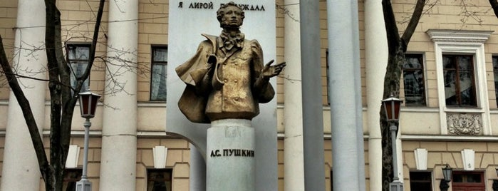 Памятник Пушкину is one of VRN.