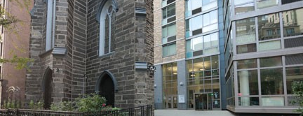 NYU Founders Residence Hall is one of A Virtual Map of NYU Student Life.