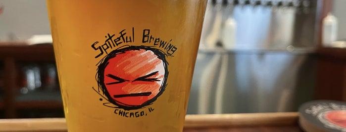 Spiteful Brewing is one of Lugares favoritos de Chris.