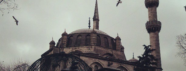 Mesquita de Mihrimah Sultan is one of Istanbul food.