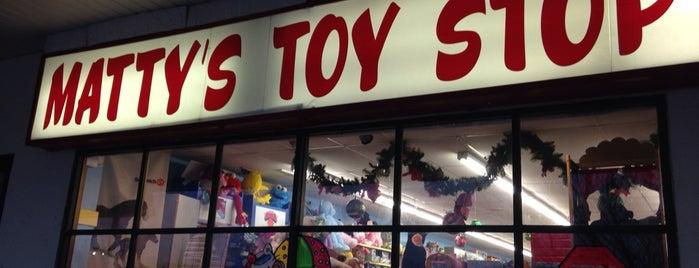 Matty's Toy Stop is one of Lugares favoritos de Melissa.