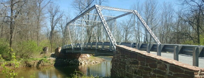 Old Mill Road Bridge is one of Truss Bridges.