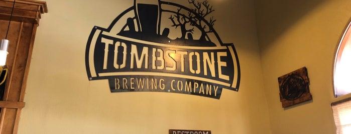 Tombstone Brewing Company is one of Tempat yang Disukai Conrad & Jenn.