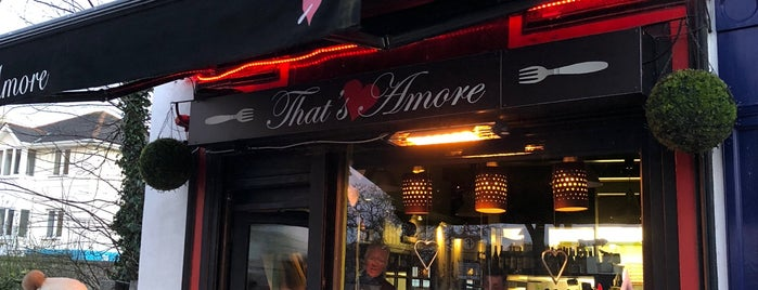 That's Amore is one of Dublin.