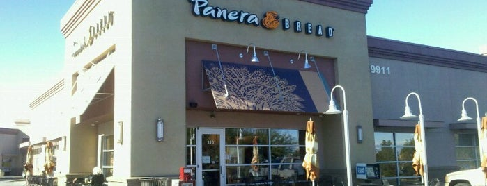 Panera Bread is one of Places to eat.