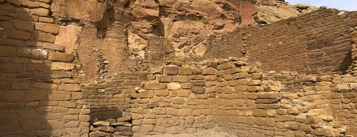 Chaco Culture National Historical Park is one of New Mexico.