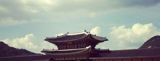 Gyeongbokgung Palace is one of Seoul/Korea.