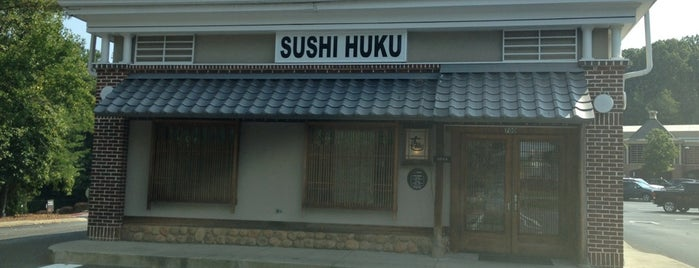 Sushi-Huku Japanese Resturant is one of Good ATL Shiz.