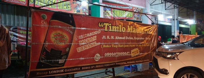 Timlo Maestro is one of Kuliner Solo.