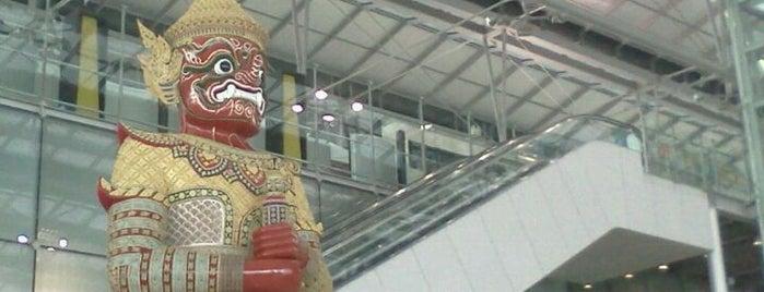 Flughafen Suvarnabhumi (BKK) is one of I Love Bangkok!.