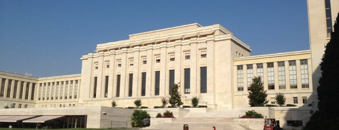 Palais des Nations is one of Genève 🇨🇭.