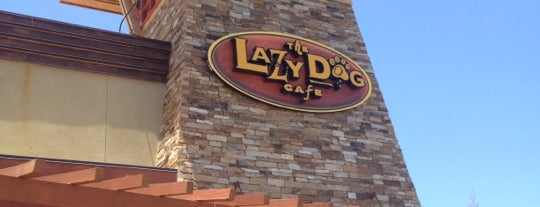 Lazy Dog Restaurant & Bar is one of Restaurants.