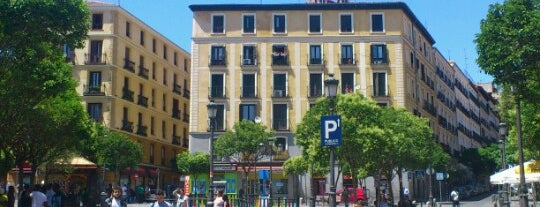 Plaza de Lavapiés is one of Guide to Madrid's best spots.