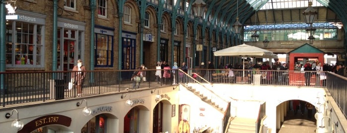 Mercado de Covent Garden is one of London's best markets.