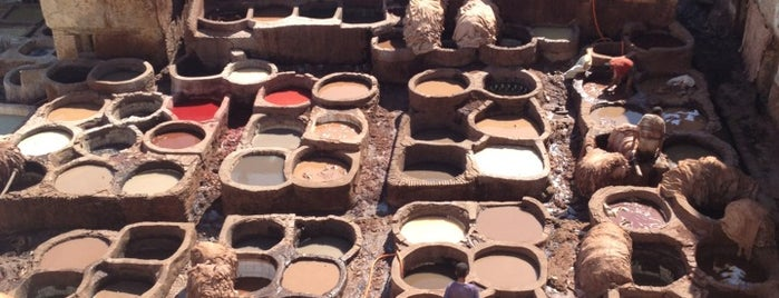 Tanneries is one of Morocco 🇲🇦.