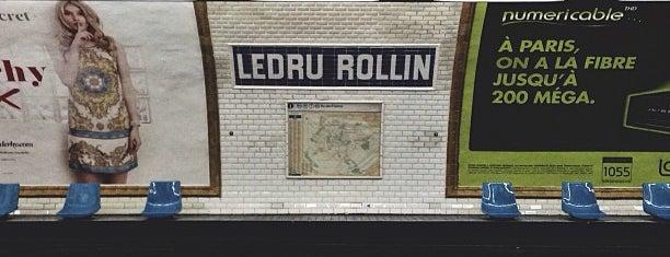 Métro Ledru-Rollin [8] is one of Romain 님이 좋아한 장소.