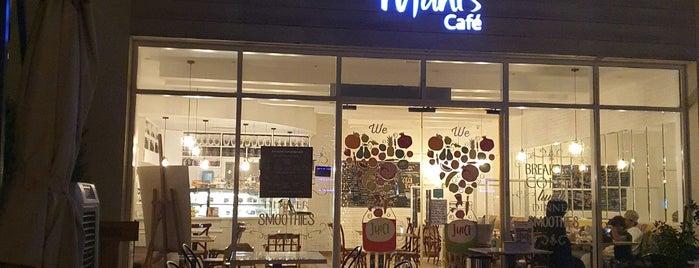 Mani's Gourmet Cafe is one of Giselle'nin Beğendiği Mekanlar.