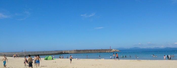 志賀島海水浴場 is one of JulienFさんのお気に入りスポット.
