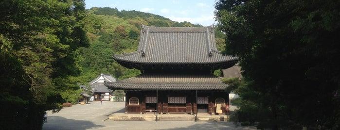 御寺 泉涌寺 is one of Mirei Shigemori 重森三玲.