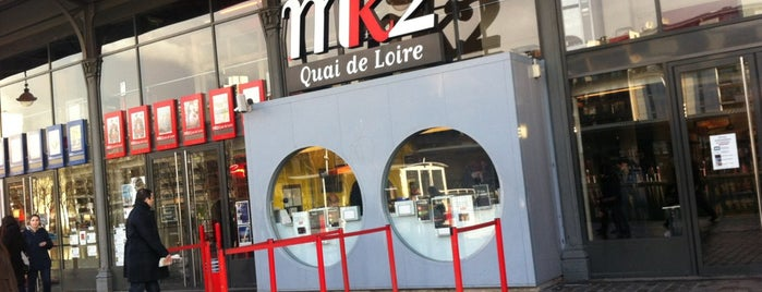 MK2 Quai de Loire is one of Locais curtidos por Michael.