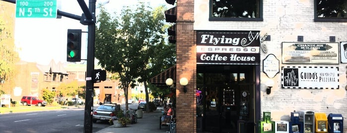 Flying M Coffeehouse is one of Lugares guardados de Cathy.