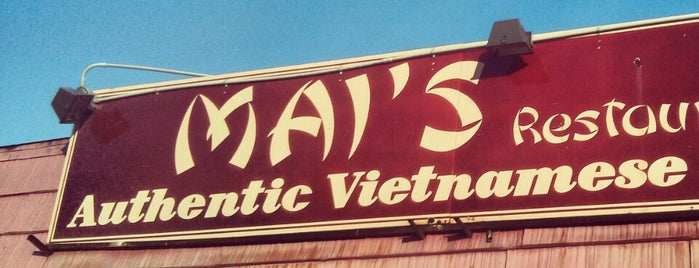 Mai's Vietnamese Restaurant is one of Pho Pho Pho.