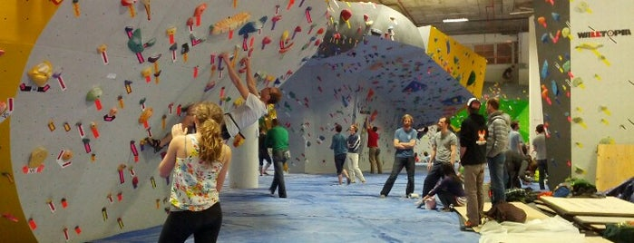 Dogpatch Boulders is one of San Francisco Recommends.
